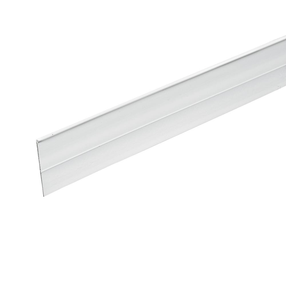 Frost King 1-1/2-in x 36-in White Self Stick Door Sweep