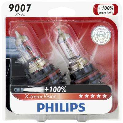 X-treme Vision - Twin Blister Pack - High Beam and Low Beam