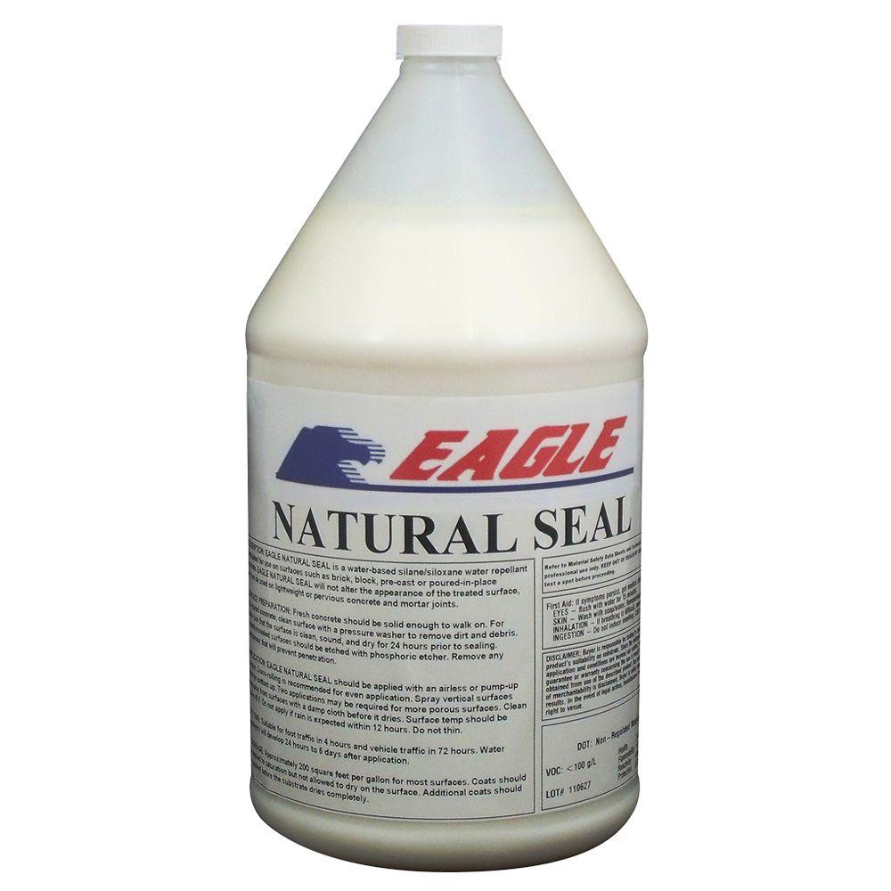 Home Depot Acrylic Cement : Eagle gal clear wet look solvent based acrylic concrete