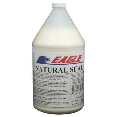 1 Gal. Natural Seal Penetrating Clear Water-Based Concrete and Masonry Water Repellant Sealer and Salt Protectant