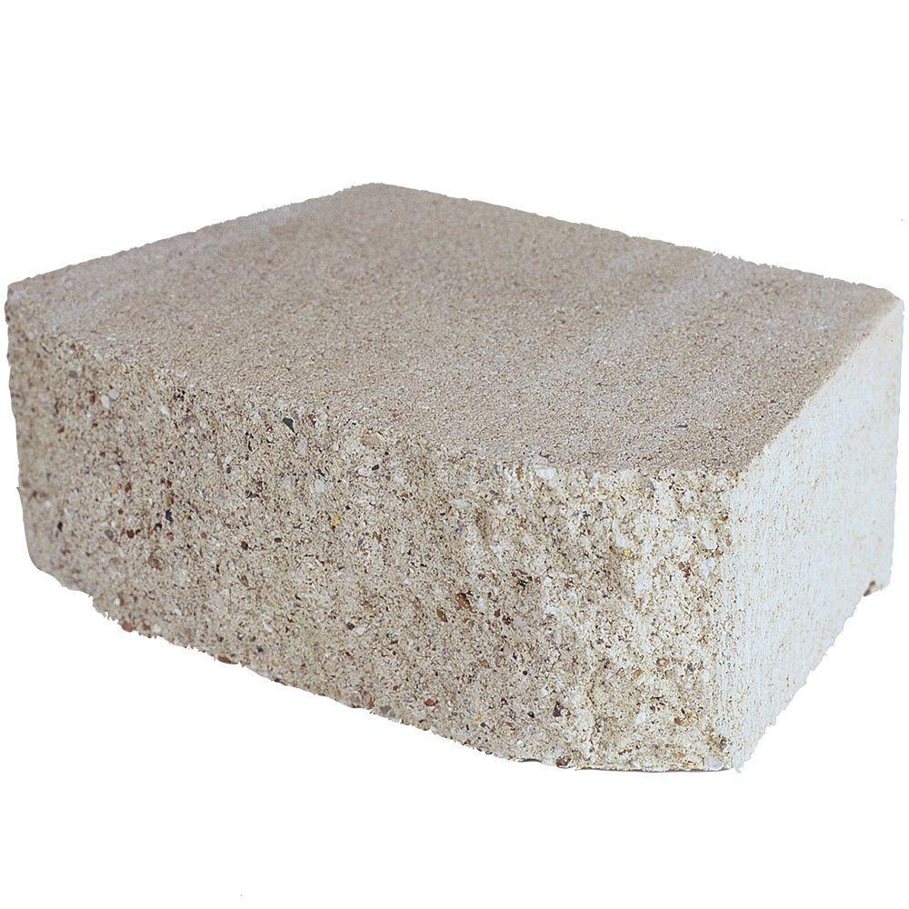 4 in. x 11.75 in. x 6.75 in. Limestone Concrete Retaining
