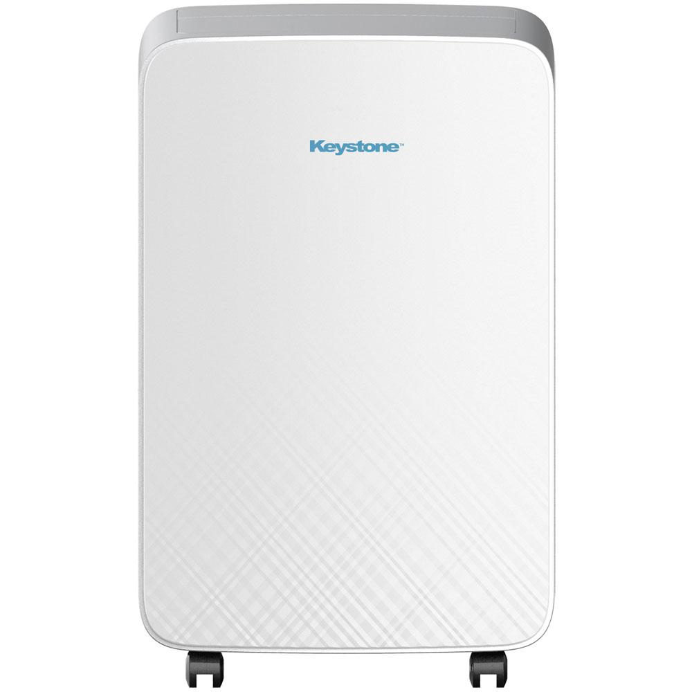 Keystone 10000 BTU 6000 BTU (DOE) M Series Portable Air Conditioner for  Rooms up to 150-sq  ft  in White