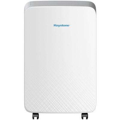 10000 BTU 6000 BTU (DOE) M Series Portable Air Conditioner for Rooms up to 150-sq. ft. in White