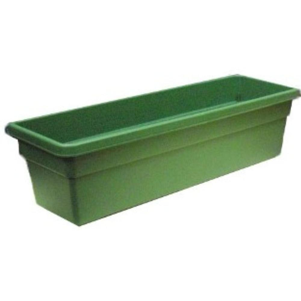 ames 8 in x 24 in plastic window box 2718 the home depot