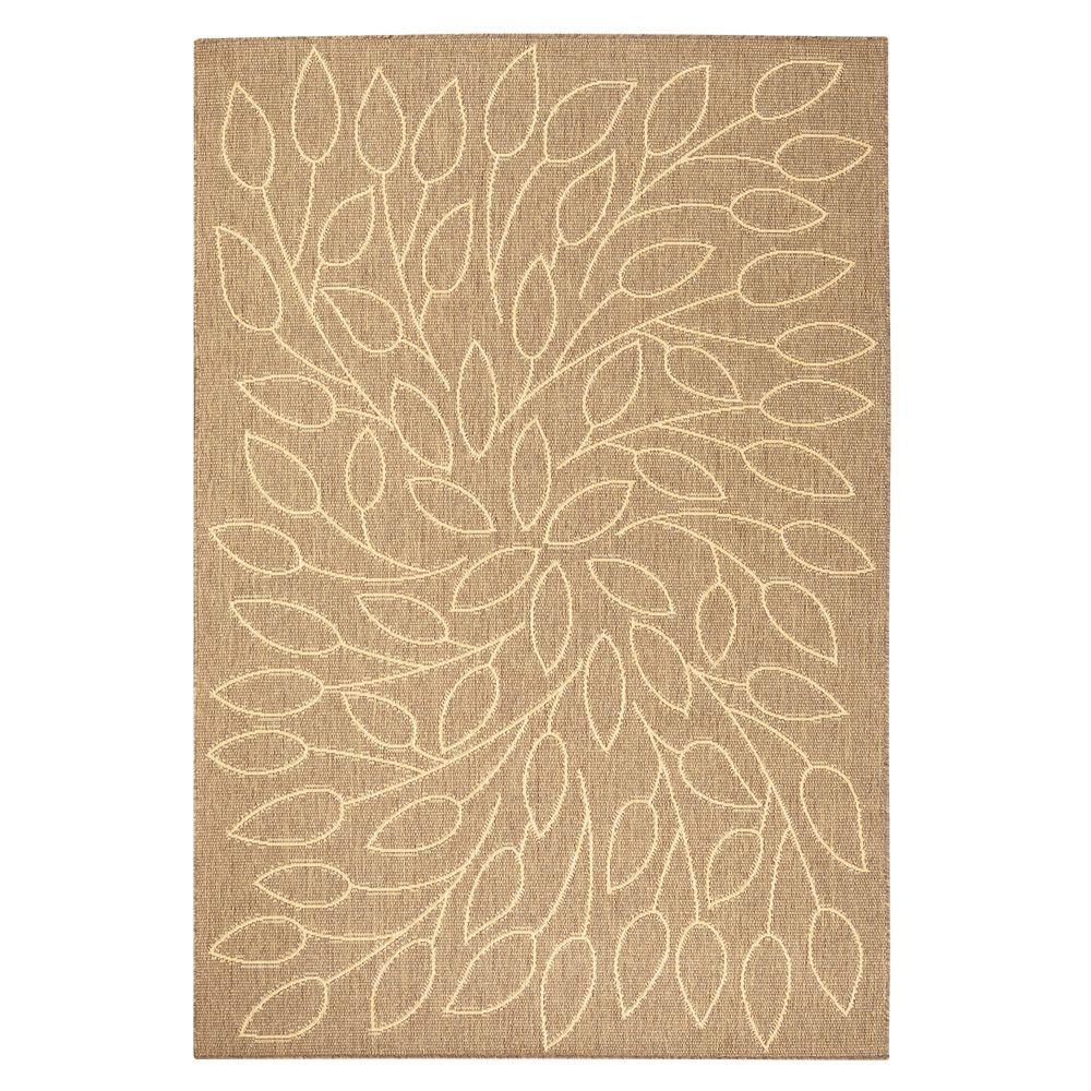 Persimmon Cocoa 5 ft. x 8 ft. Area Rug