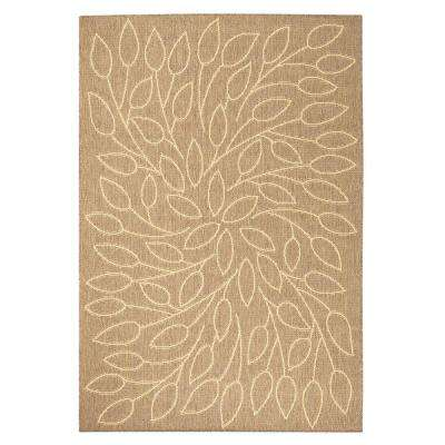 Persimmon Cocoa 9 ft. x 13 ft. Area Rug