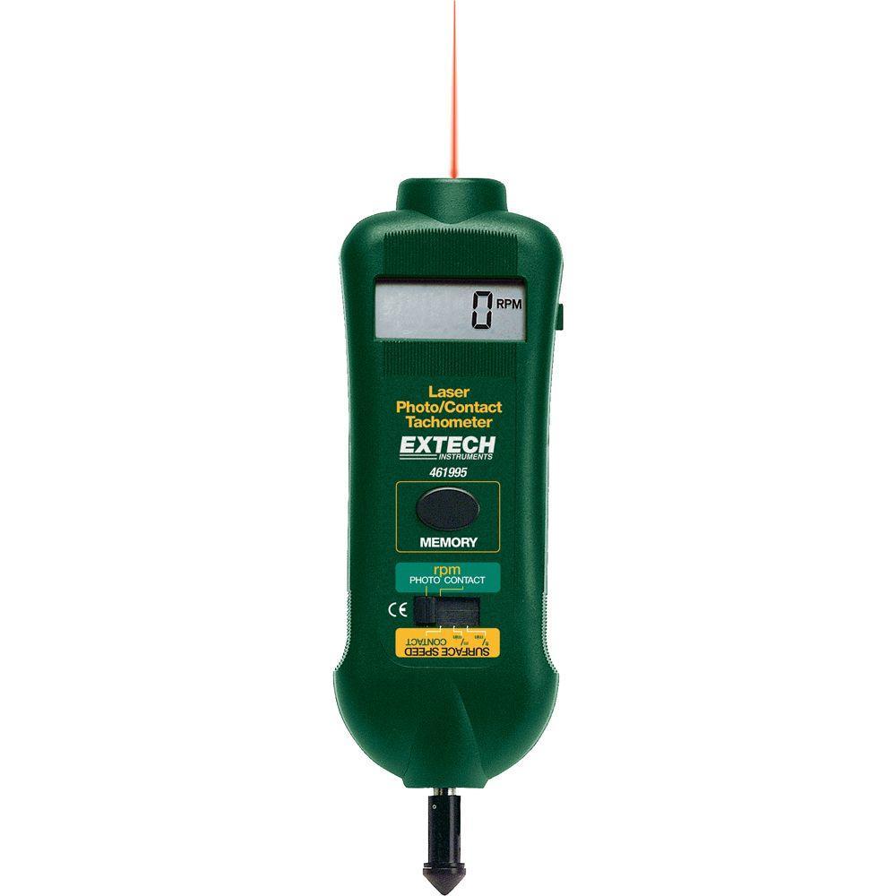 Extech Instruments Combination Photo/Contact Tachometer