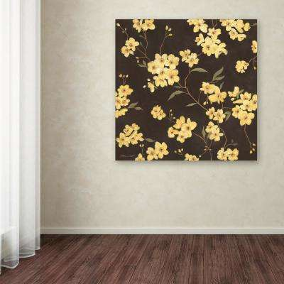 "24 in. x 24 in. ""Yellow Blossoms"" by Stephanie Marrott Printed Canvas Wall Art"