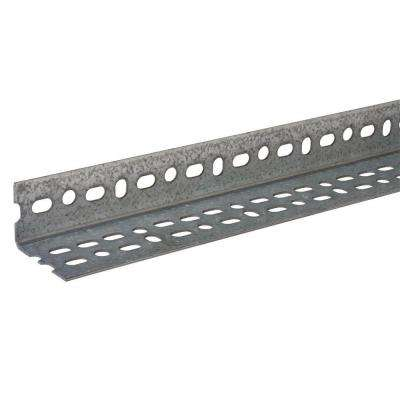 36 in. x 1-1/2 in. x 1/8 in. Offset Slotted Angle