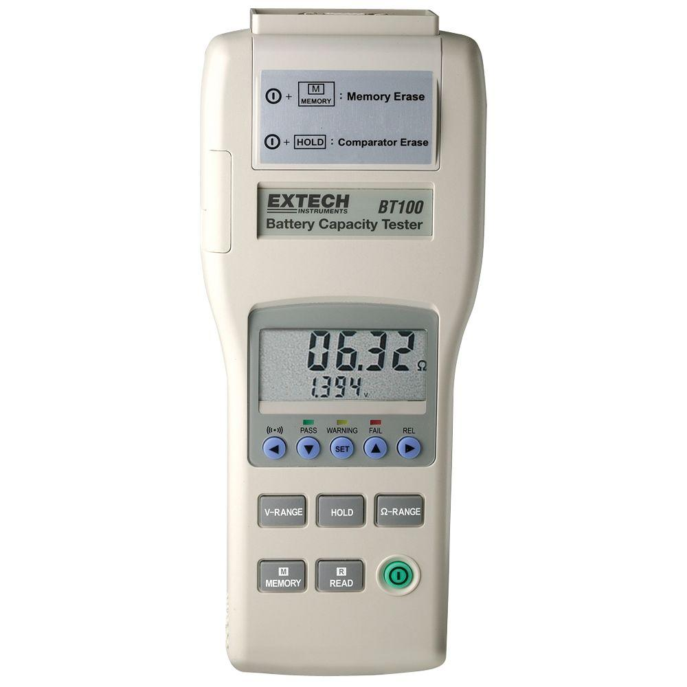 Battery Capacity Test : Extech instruments battery capacity tester bt the