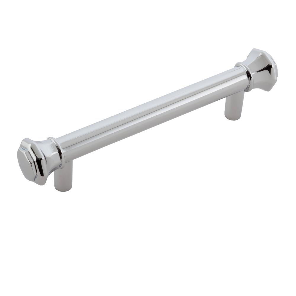Sumner Street Home Hardware Octagon 3-1/2 in. Chrome Drawer Pull