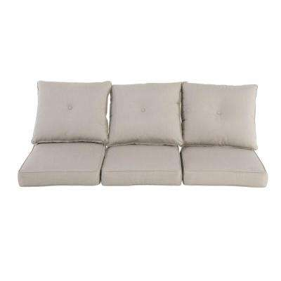 Broadview 23 x 24.75 Outdoor Sofa Cushion in Sunbrella Spectrum Dove