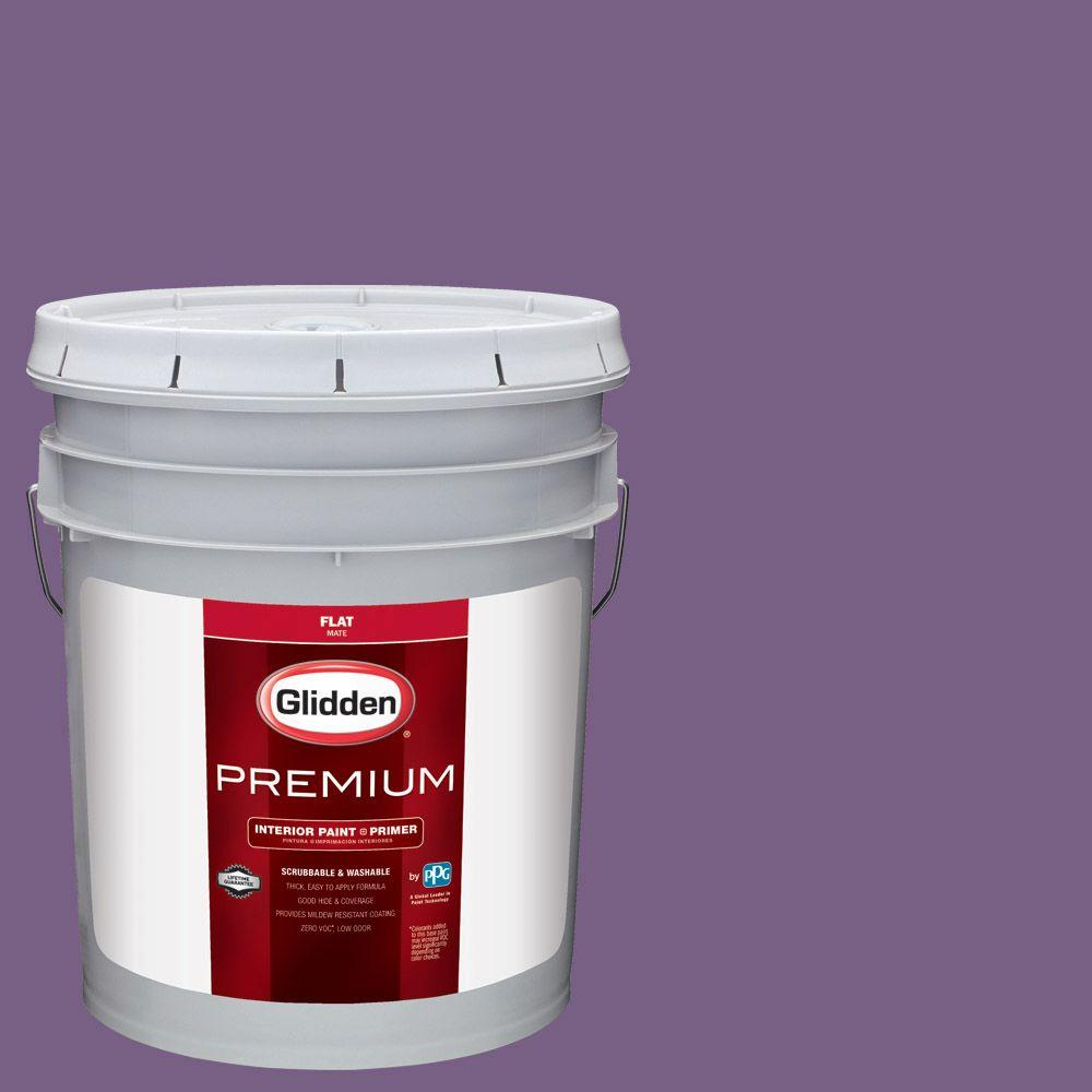 #HDGV60 Amethyst Jewel Flat Interior Paint With Primer