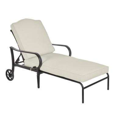 Laurel Oaks Outdoor Chaise Lounge with Cushions Included, Choose Your Own Color