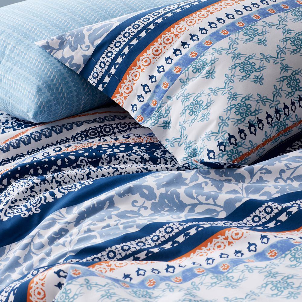 Rylie 200-Thread Count Cotton Percale Duvet Cover Set