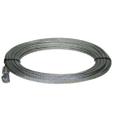 Wire Rope 55 ft. x 7/32 in. for KT4000 Winch