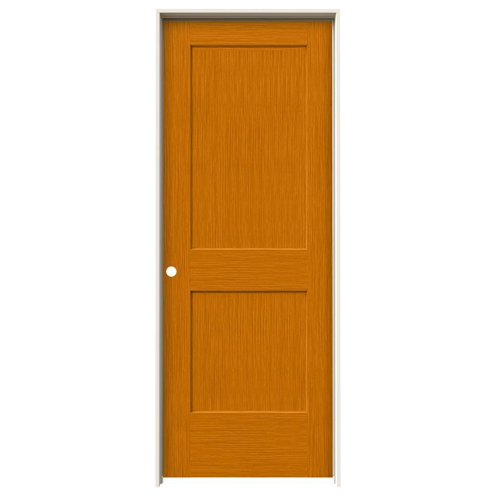 jeldwen 30 in x 80 in monroe saffron stain righthand