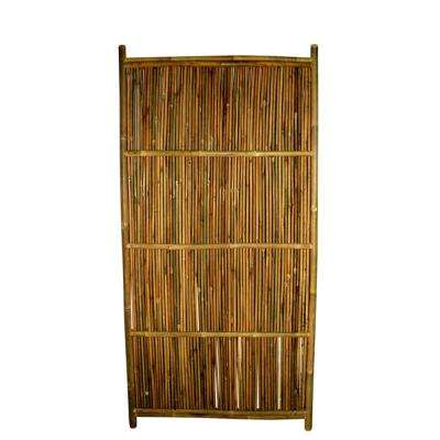 36 in. W x 72 in. H Bamboo Garden Fence Panel