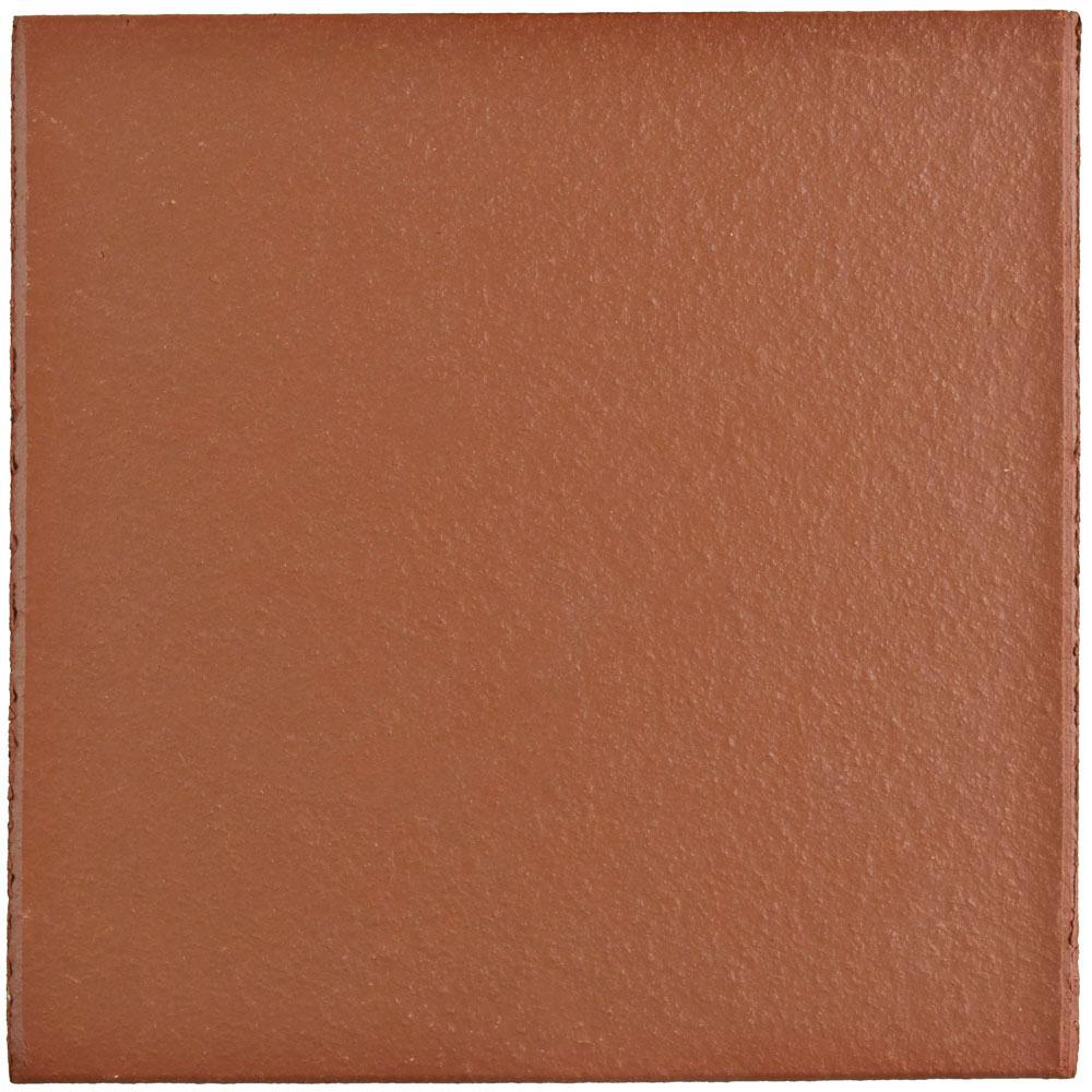 Red ceramic tile tile the home depot klinker red 5 78 in x 5 78 in dailygadgetfo Choice Image
