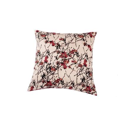 Blossom Cotton Floral King Sham 300 Thread Count 20 in. W x 36 in. L in Multi