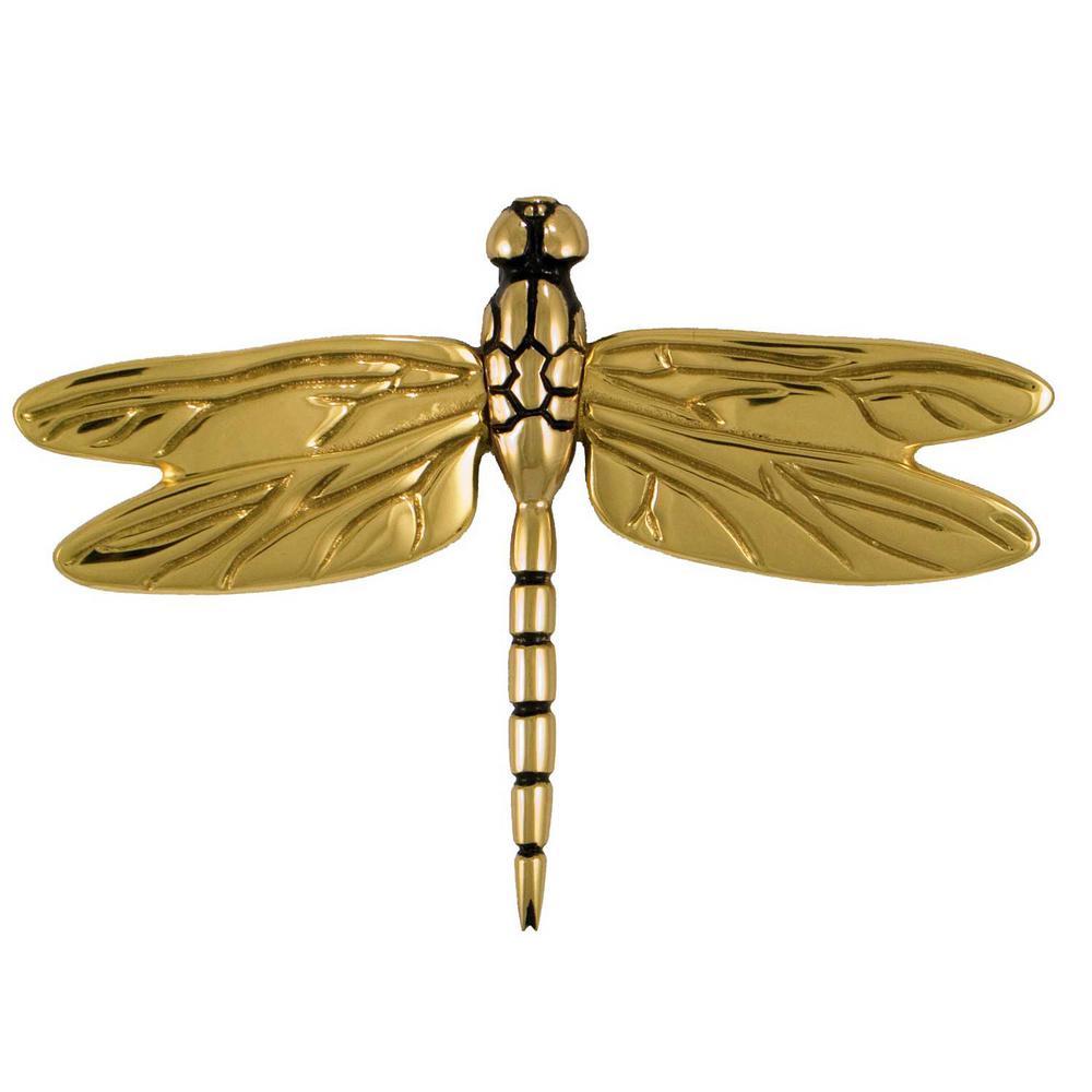 Michael Healy Brass Dragonfly Door Knocker