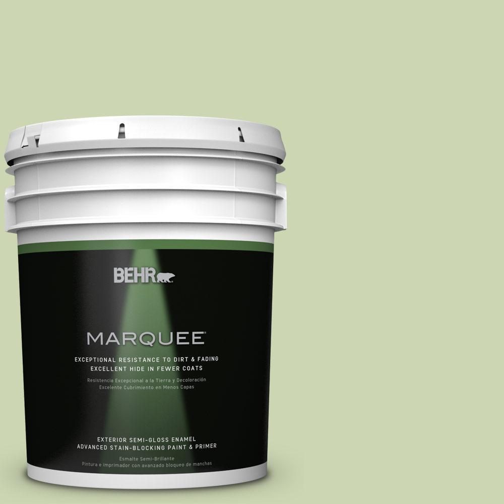 5-gal. #M360-3 Avocado Whip Semi-Gloss Enamel Exterior Paint
