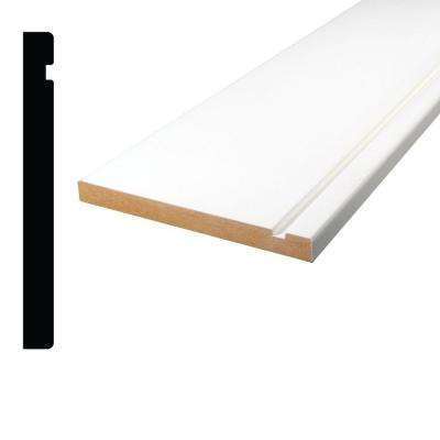 1/2 in x 5 in. x 84 in. Primed MDF Base Moulding