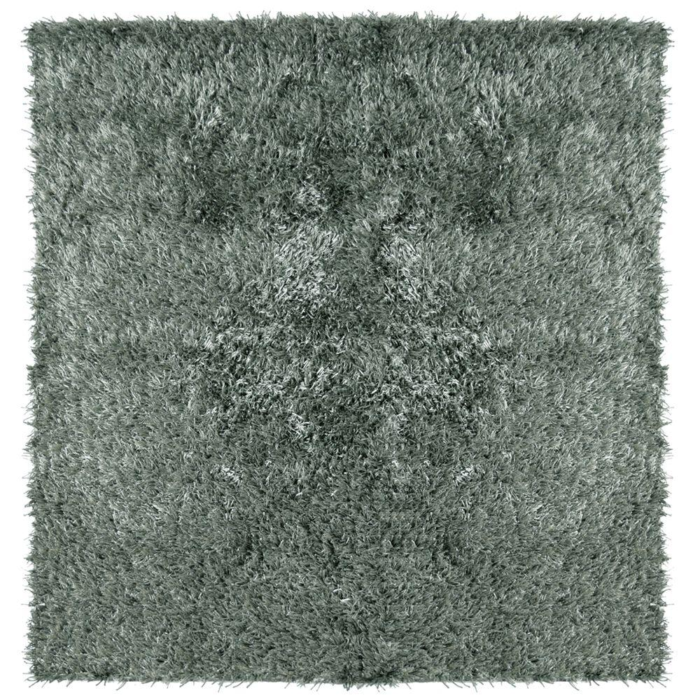 City Sheen Stone 4 ft. x 4 ft. Square Area Rug
