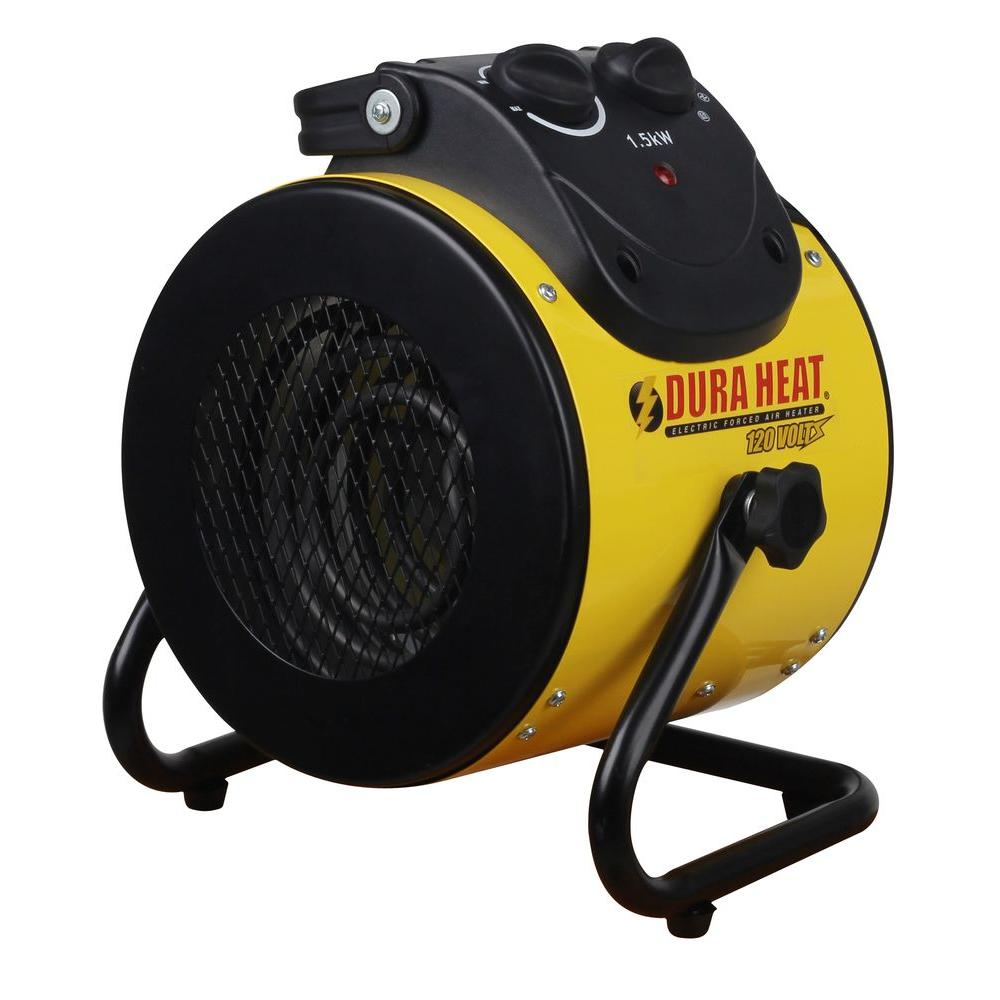Duraheat 1 500 Watt 120 Volt Electric Forced Air Heater