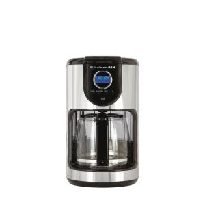 Kitchenaid 12 Cup Programmable Coffee Maker Kcm111ob The Home Depot