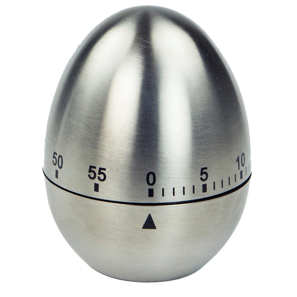 HOME basics Silver Egg TimerKT47252 The Home Depot