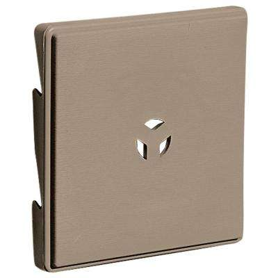 6.625 in. x 6.625 in. #095 Clay Triple 3-Surface Block