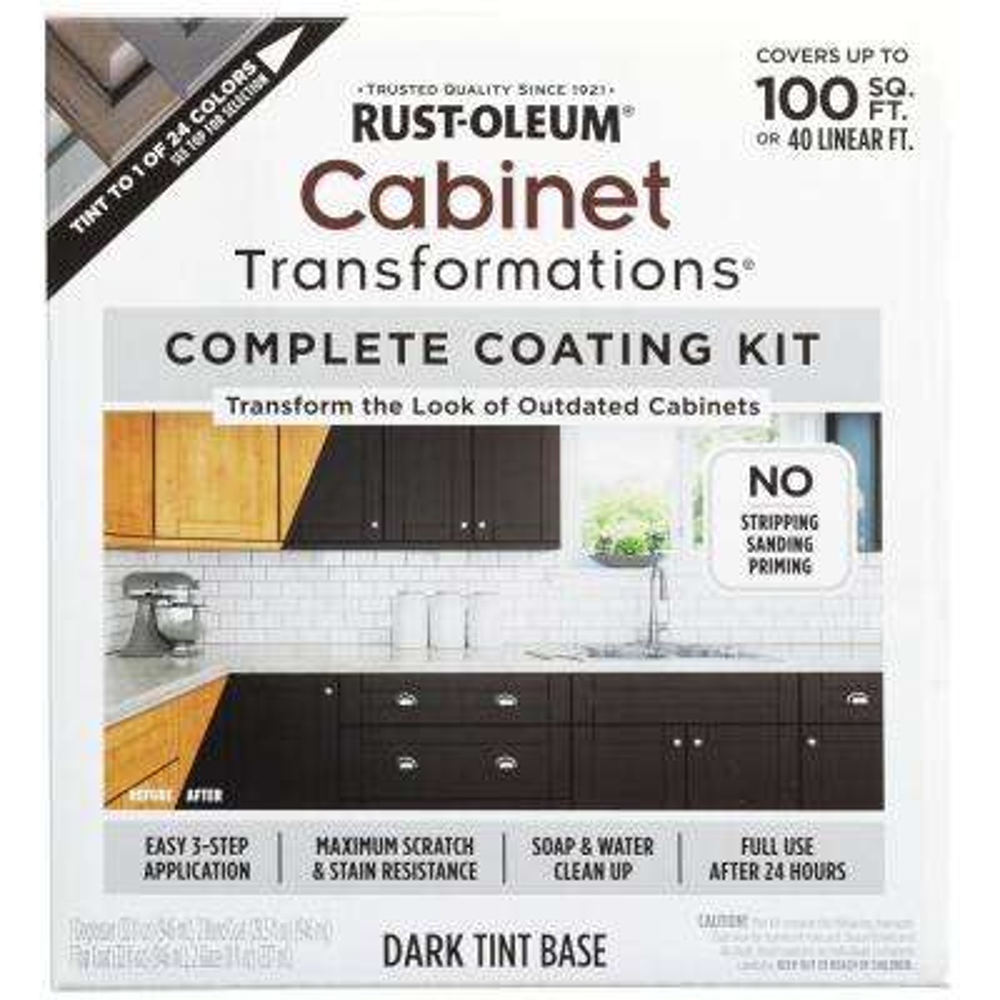 Dark Color Cabinet Kit (9-Piece)
