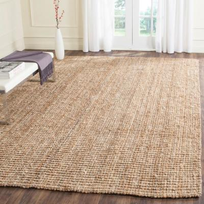 Natural Fiber Beige 9 ft. x 12 ft. Indoor Area Rug