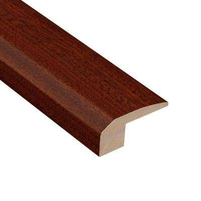 Matte Corbin Mahogany 3/8 in. Thick x 2-1/8 in. Wide x 78 in. Length Hardwood Carpet Reducer Molding