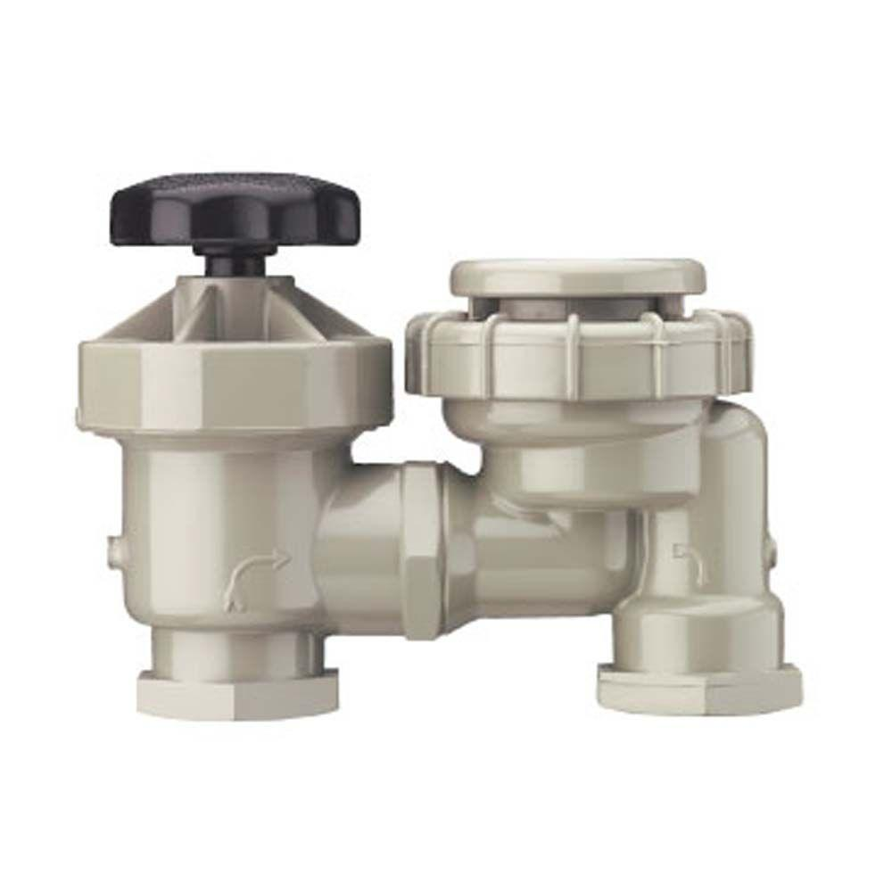 Manual Anti-Siphon Thread Valve
