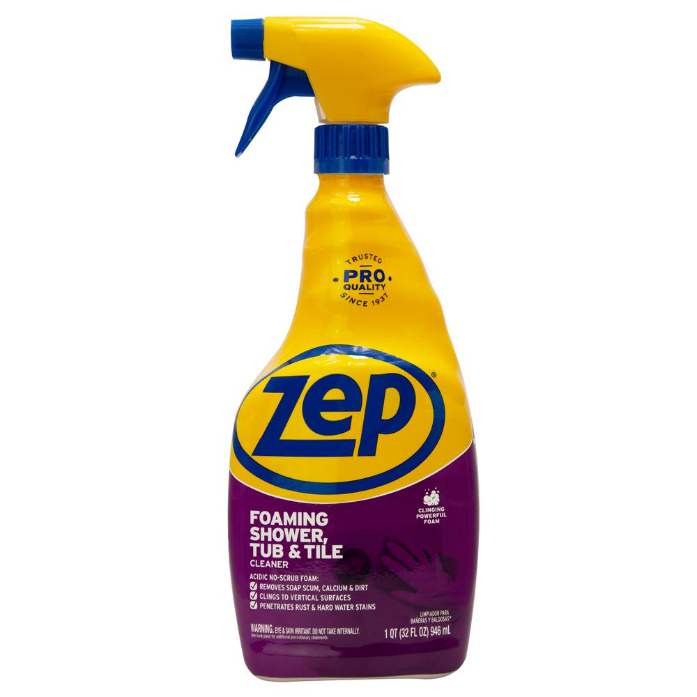ZEP 32 oz. Power Foam Tub and Tile Cleaner