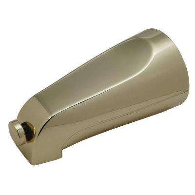 Mixet 5-1/8 in. Diverter Tub Spout in Polished Brass