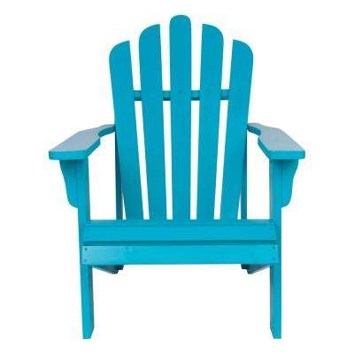 Blue Adirondack Chairs Patio Chairs The Home Depot