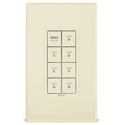 Smarthome KeypadLinc Dimmer - INSTEON 8-Button Scene Control Keypad with Dimmer, Ivory-DISCONTINUED