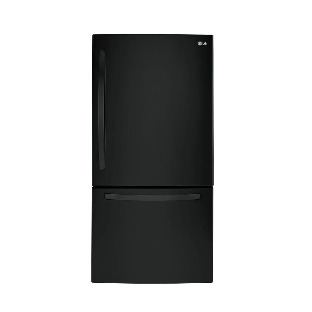 Lg Electronics 24 Cu Ft Bottom Freezer Refrigerator In