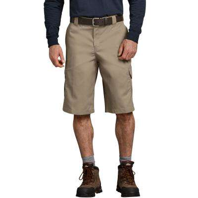 Men's Desert Sand Flex 13 in. Relaxed Fit Cargo Short