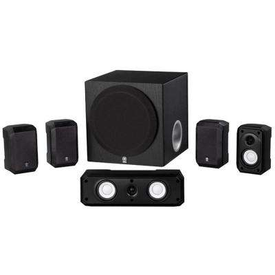 600-Watt 5.1-Channel RMS Speaker System - Black