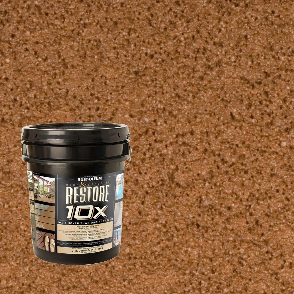 Rust-Oleum Restore 4-gal. Timberline Deck and Concrete 10X Resurfacer