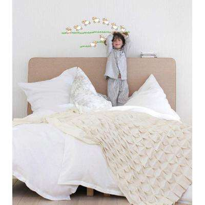 36 in. H x 36 in. D 20-Piece Jumping Sheep Wall Sticker (2-Sheets)