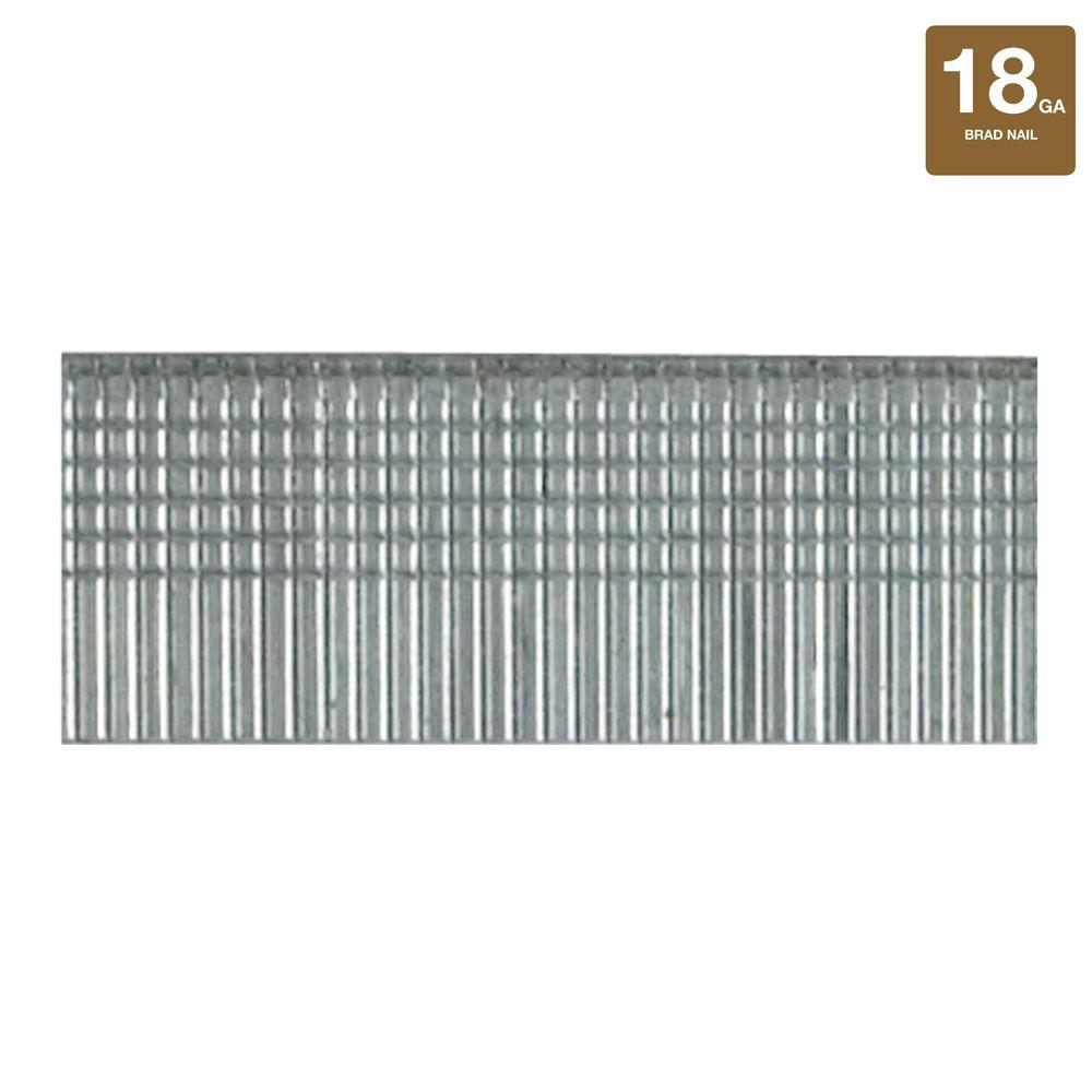 Stanley 1/2 in. 18-Gauge Brad Nails-SWKBN050S - The Home Depot