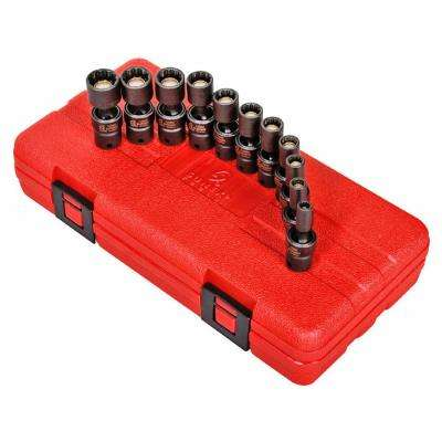 1/4 in. Drive 12-Point Universal Socket Set(11-Piece)