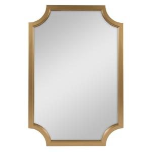 Hogan Irregular Gold Accent Mirror