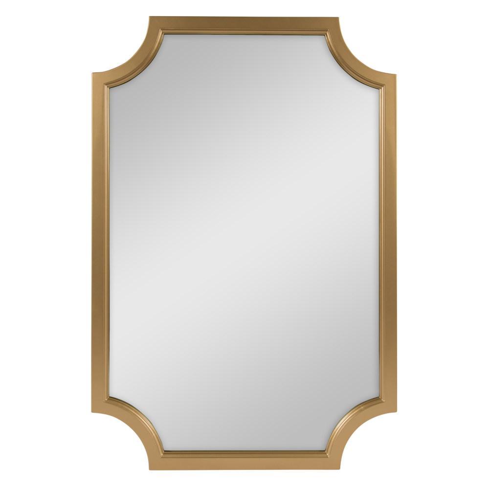 Hogan Irregular Gold Accent Mirror