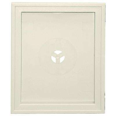 6.75 in. x 8.75 in. #082 Linen Large Recessed Mounting Block
